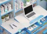 屋迪智能儿童书桌正式上市, 智能护眼+作业辅导!